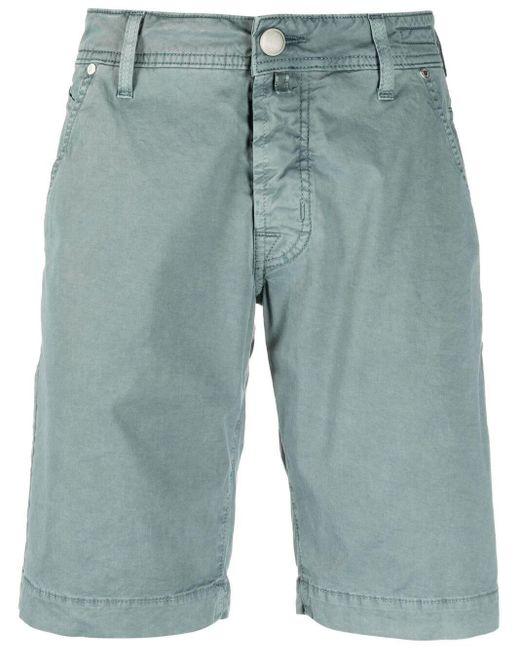 Jacob Cohen Schmale Chino-Shorts in Green für Herren