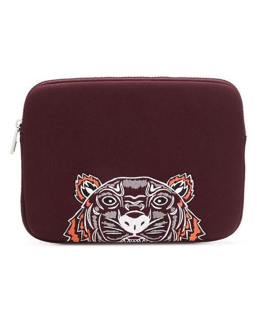 bcae1764 Women's Red Tiger Laptop Case