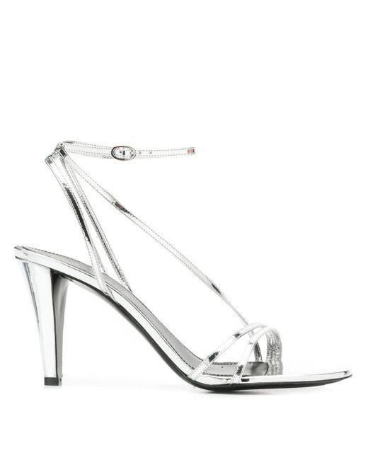 Sandales à bride arrière Isabel Marant en coloris Metallic