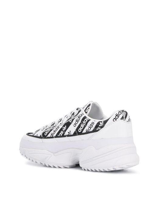 Кроссовки Kiellor На Массивной Подошве Adidas, цвет: White