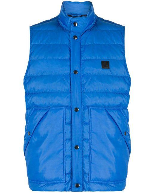 Стеганый Жилет Woolrich для него, цвет: Blue
