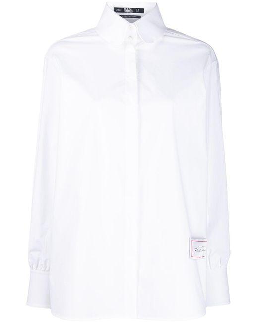 Karl Lagerfeld トリビュート シャツ White