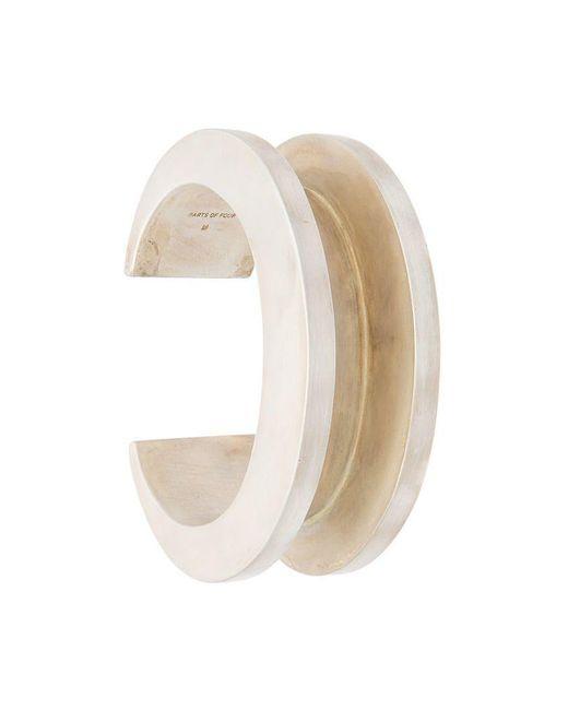Parts Of 4 - Metallic Cuff Bracelet for Men - Lyst