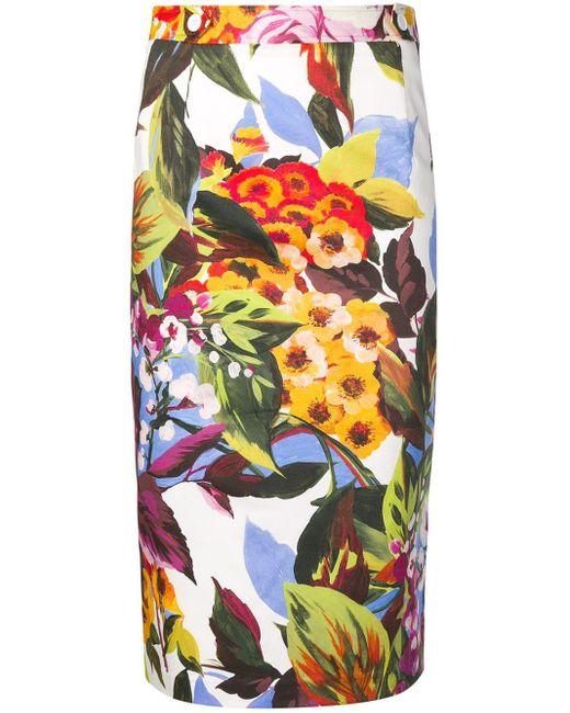 Blugirl Blumarine フローラル スカート Multicolor