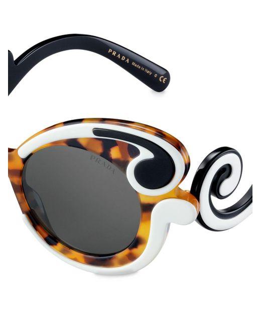 Prada Prada Minimal-baroque Eyewear Sunglasses Multicolor
