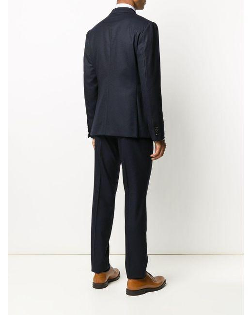 メンズ Z Zegna ツーピース スーツ Blue