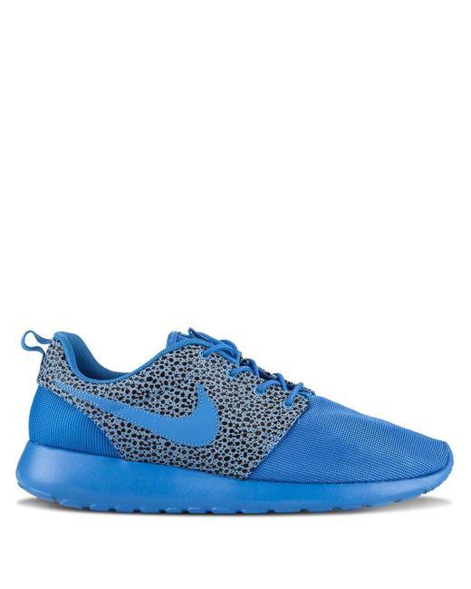 メンズ Nike Rosherun Premium スニーカー Blue