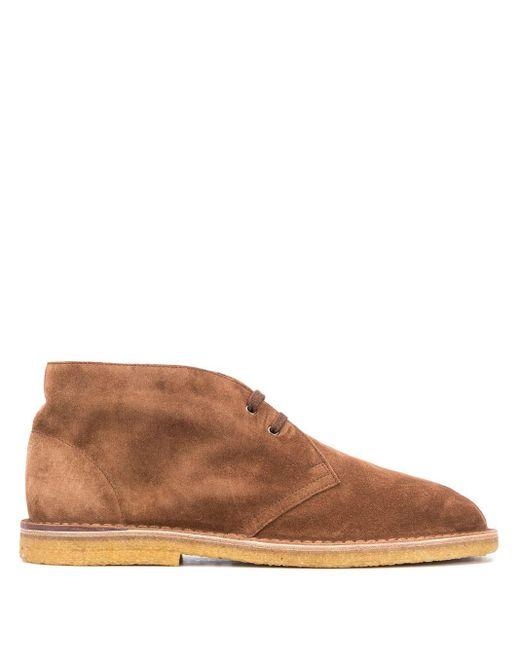 Ботинки Дезерты Nino Saint Laurent для него, цвет: Brown