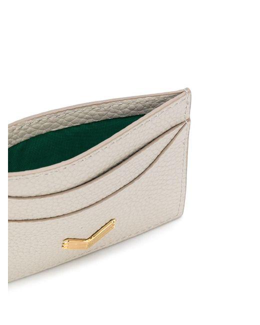 Manokhi カードケース Gray