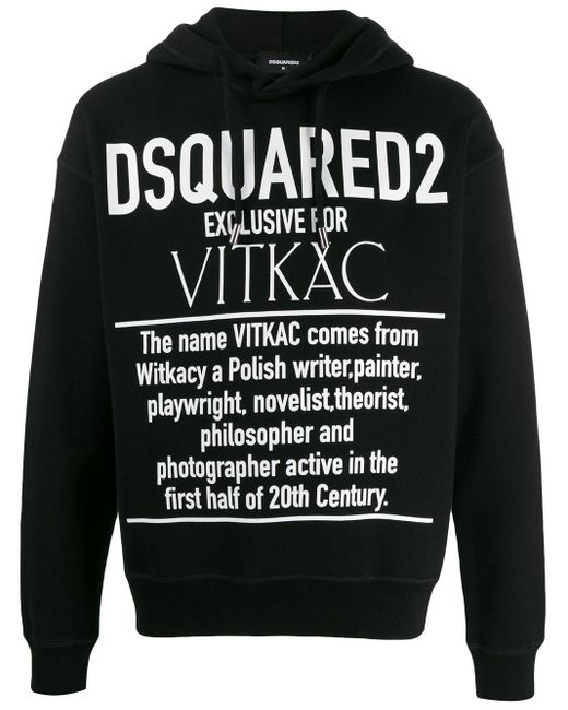 メンズ DSquared² Exclusive For Vitkac パーカー Black