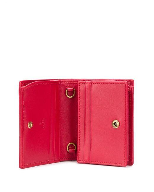 Кошелек GG Marmont На Цепочке Gucci, цвет: Red