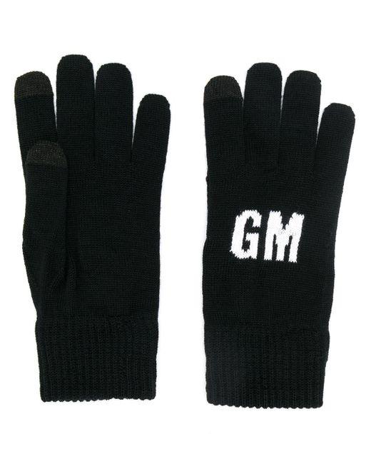 Gants à logo MSGM pour homme en coloris Black