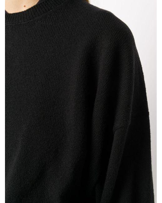 Y's Yohji Yamamoto オーバーサイズ クロップドプルオーバー Black