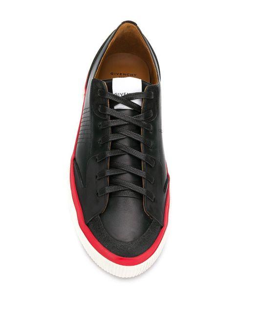 メンズ Givenchy ロゴ スニーカー Black