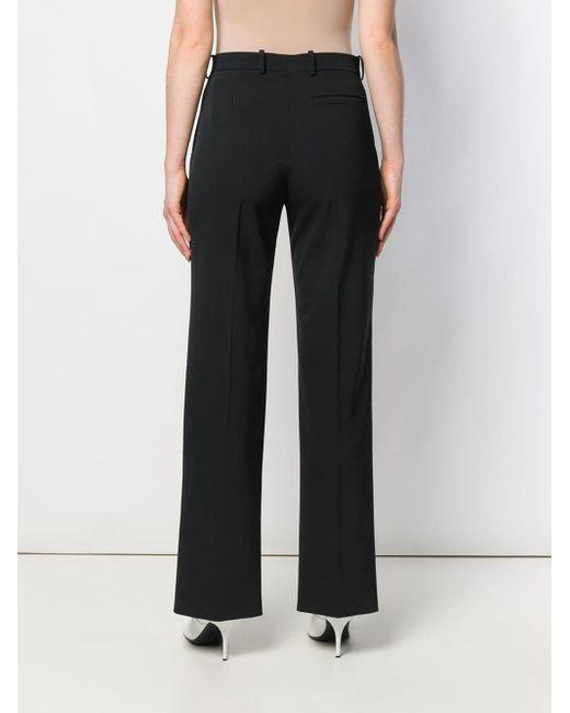 Pantalon droit à pinces Joseph en coloris Black