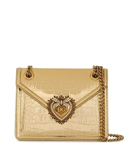 Dolce & Gabbana Devotion ショルダーバッグ Metallic