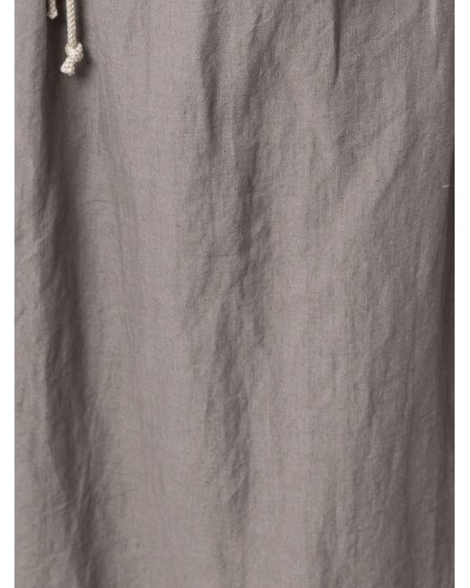 Y's Yohji Yamamoto クロップド ワイドパンツ Gray