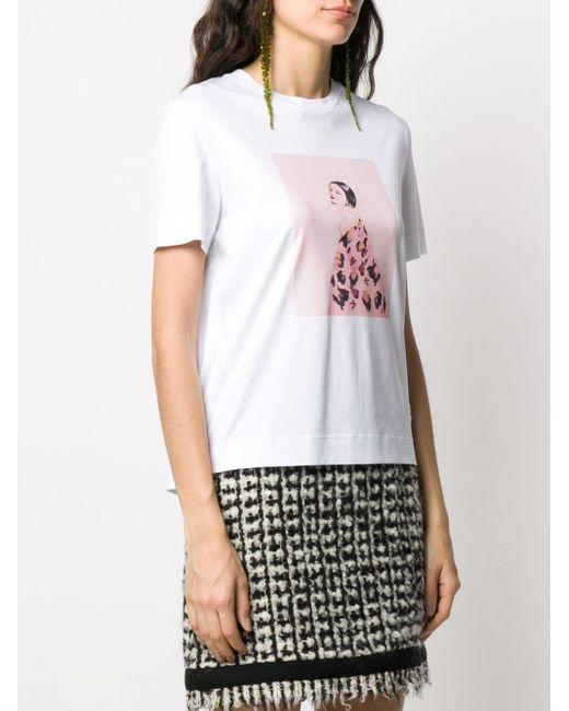 Ports 1961 プリント Tシャツ White