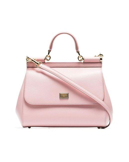 Dolce & Gabbana Sicily ショルダーバッグ Pink
