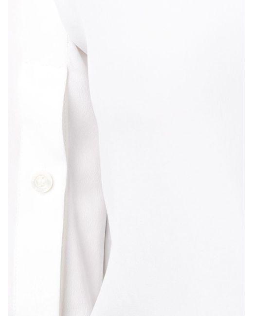 Boutique Moschino ボタンスリーブ シャツ White