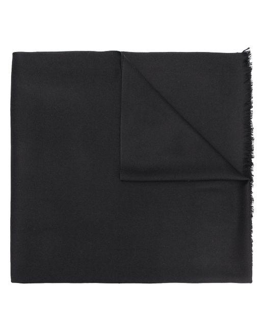 N.Peal Cashmere カシミアスカーフ Black