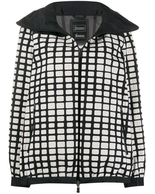 Herno Rounded Collar Coat Black