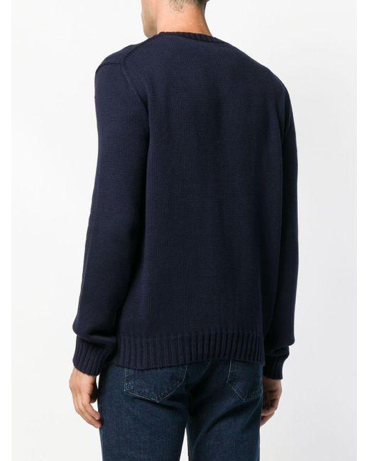 メンズ Polo Ralph Lauren フラッグ セーター Natural