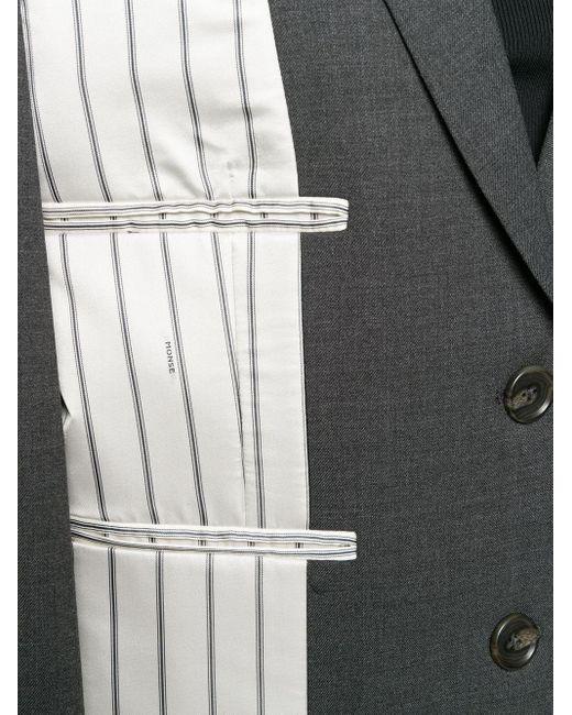 Monse デコンストラクテッド ジャケット Gray