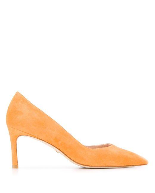 Туфли-лодочки Anny С Заостренным Носком Stuart Weitzman, цвет: Orange