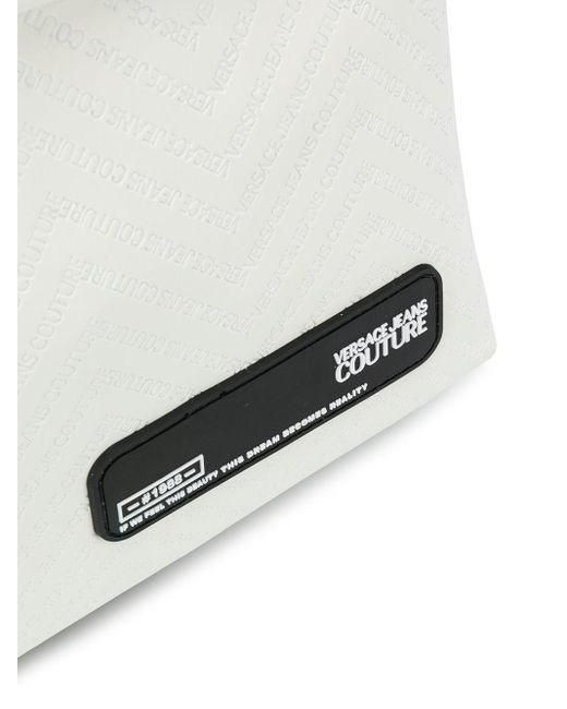 Рюкзак С Тисненым Логотипом Versace Jeans для него, цвет: White