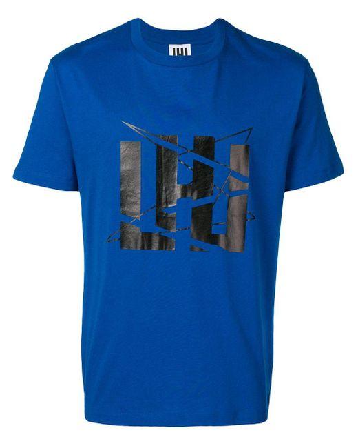 メンズ Les Hommes ロゴ パーカー Blue