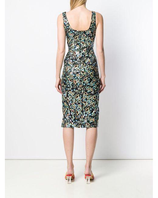 AlexaChung スパンコール ドレス Black