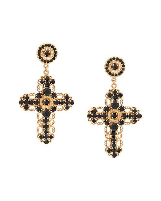 Dolce & Gabbana クロス ピアス Multicolor