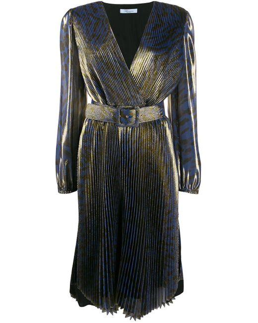 Blumarine プリーツドレス Blue
