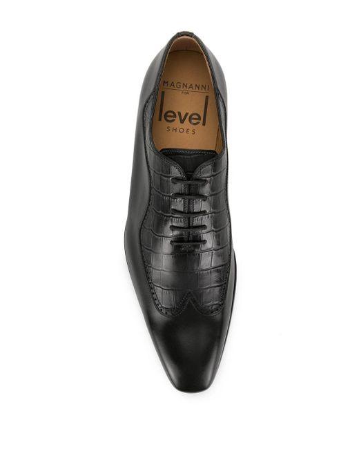 メンズ Magnanni Shoes オックスフォードシューズ Black