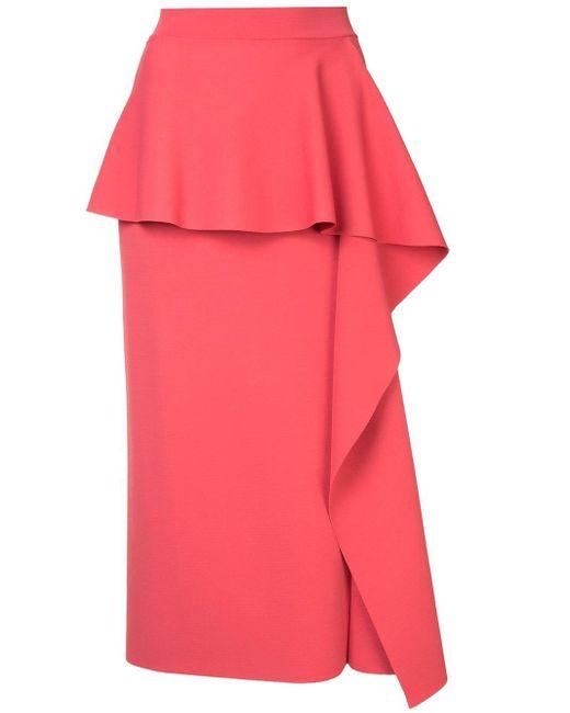 Stella McCartney ラッフル スカート Pink