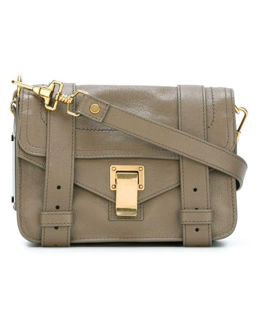 Ps1 Mini Crossbody Proenza Schouler, цвет: Multicolor