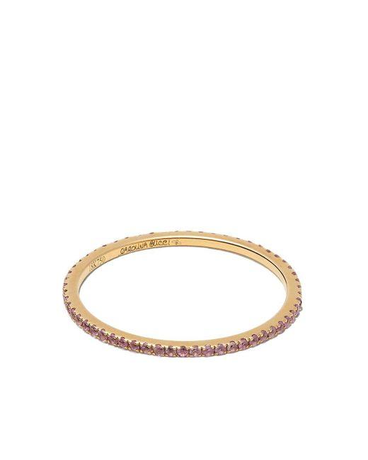 Кольцо Из Желтого Золота С Розовыми Сапфирами Carolina Bucci, цвет: Pink