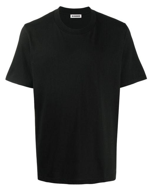 メンズ Jil Sander クルーネック Tシャツ Black