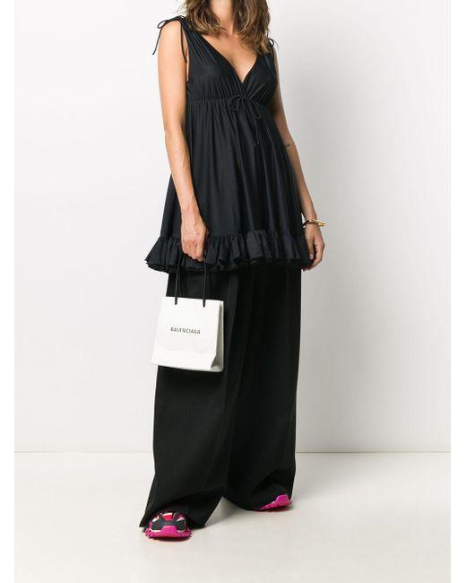 Balenciaga ショッピング トートバッグ Xxs White