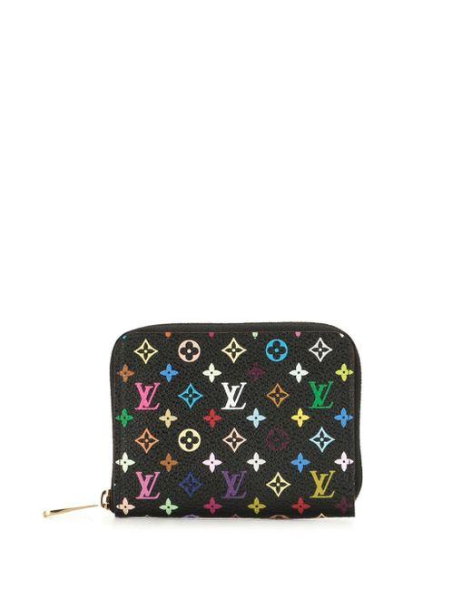 Кошелек Для Монет Zippy 2011-го Года Louis Vuitton, цвет: Black