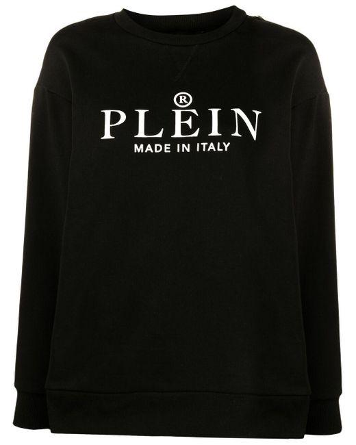 Толстовка С Логотипом Philipp Plein, цвет: Black