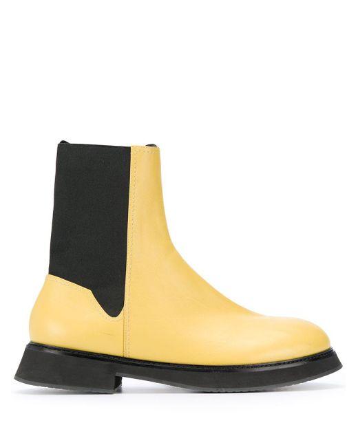 Nina Ricci チェルシーブーツ Yellow