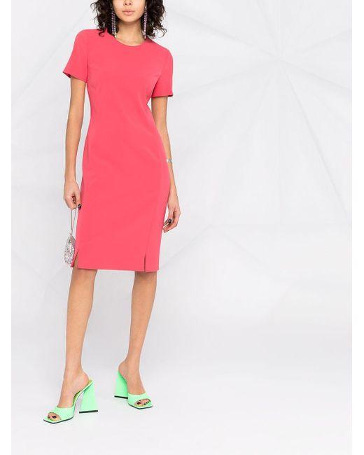 Boutique Moschino フロントスリット ドレス Pink
