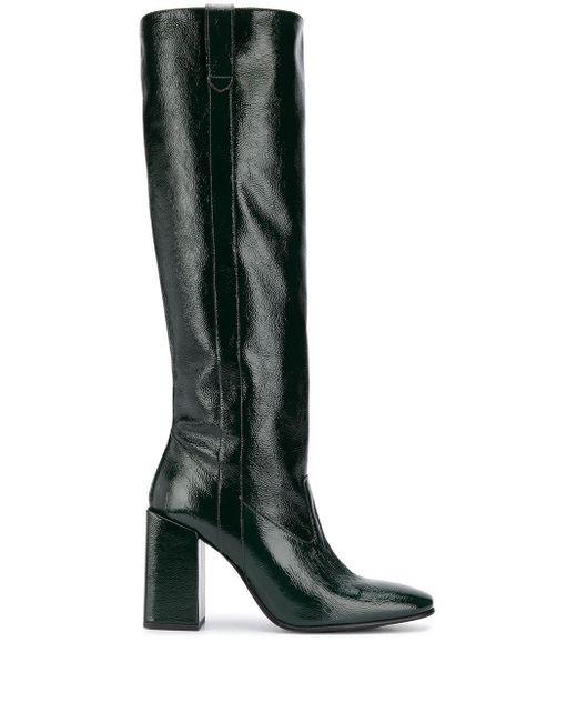 AMI Multicolor Block-heel Knee-high Boots