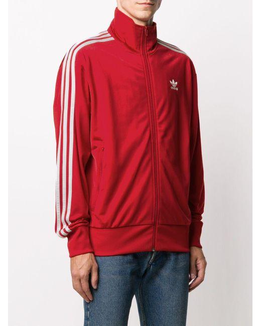 メンズ Adidas ロゴ スウェットシャツ Red