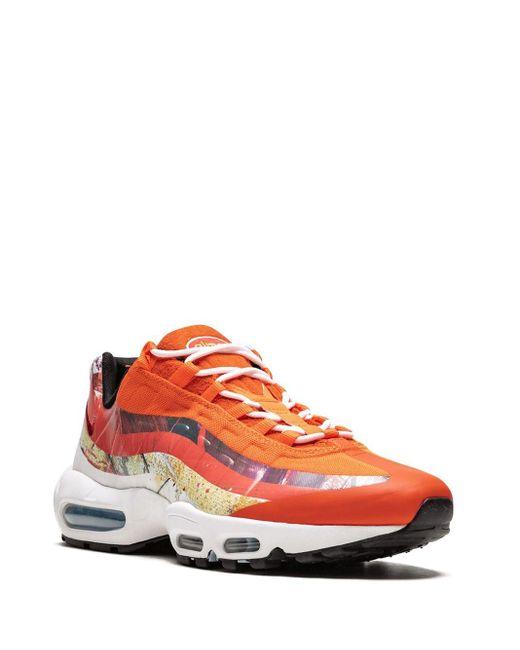 メンズ Nike Air Max 95 スニーカー Orange