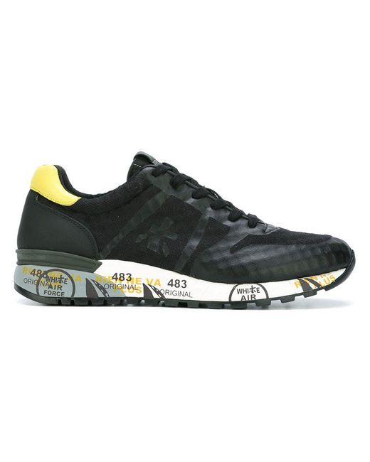 Premiata | Brown 'Lander' Sneakers for Men | Lyst