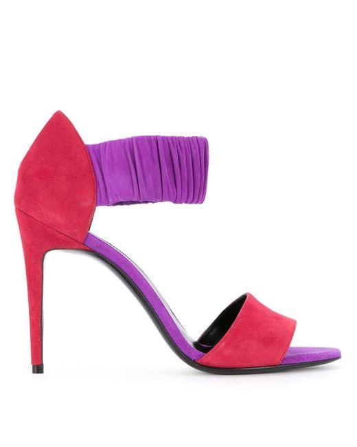 Pierre Hardy カラーブロックサンダル Pink
