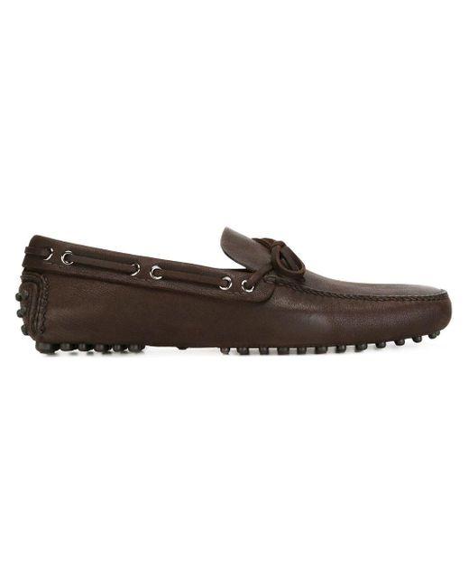 Классические Мокасины Car Shoe для него, цвет: Black